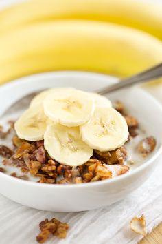 Banana Chai Granola (grain free and refined sugar free) | GI 365