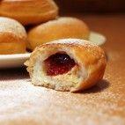 Babkine koblihy Czech Recipes, No Bake Cake, Doughnut, Cheesecake, Muffin, Bread, Vegan, Baking, Breakfast