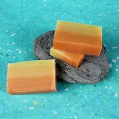 Cold Process - Sunset Ombre Soap w/ Recipe