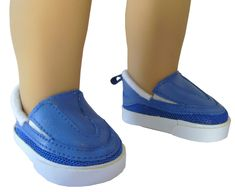 Shoes Shark Casual For 18 in American Girl Boy Doll Accessories Clothes