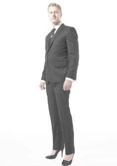 Business man in heels in public