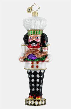 Christopher Radko 'Cooking Nutcracker' Ornament
