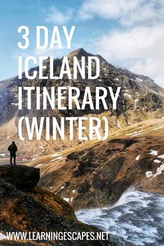 A detailed itinerary to make the most of 3 days in Iceland in winter. Where to stay in Reykjavik, best tours and Iceland must see sites for the first time visitor. This Iceland itinerary includes Reykjavik, the Blue Lagoon, the Golden Circle and the famous Black Sand beach. #iceland #icelandtravel #itinerary #visiticeland