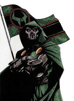 Dr. Doom by Leonardo Manco Cover art to Doom The Emperor Returns #1