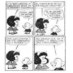 QUINO MAFALDA POLITICA