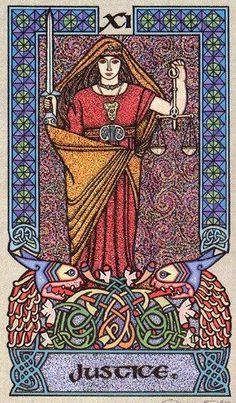 Justice - Celtic Tarot