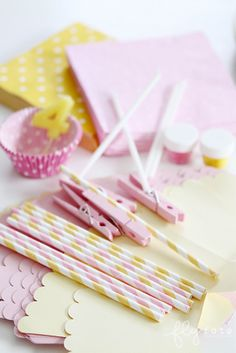 pink & yellow party inspiration