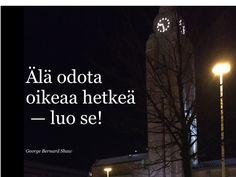 George Bernard Shaw, Helsinki