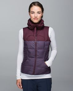 Fluffin Awesome Vest | Lululemon | $168 | 800 down fill