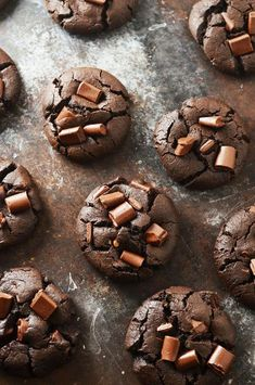 Death By Chocolate Chunk Cookies