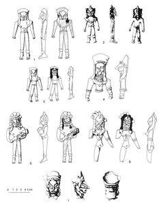 The various humanoids of the mysterious artifact from Indus-Saraswati civilization that dates back to 2700 B.C. - if not older