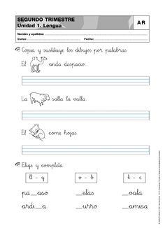 actividades-primero-de-primaria-matemticas-lengua-conocimiento-del-medio-2-trimestre by NoeliaLI via Slideshare