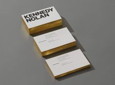 "Branding for Kennedy Nolan by Ortolan ""KN's existing logo was one they strongly identified with, but as the practice had grown and matured, so too it was time for the identity to be revisited and refined. Much of KN's work is characterised by an..."