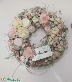 Bouquets, Beautiful Homes, Diy And Crafts, Floral Wreath, Shabby Chic, Easter, Wreaths, Flowers, Handmade