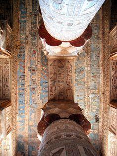 Temple complex, Dendera, Egypt