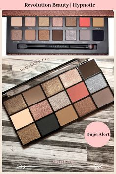 Makeup Revolution Beauty Reloaded Hypnotic Palette (Review and Swatches) (ABH Sultry Dupe?)