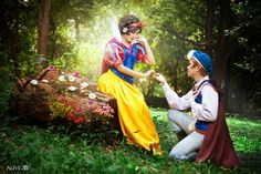 best children's Snow White and The Prince I have ever seen - from the setting to the posing and light, AND the costumes...