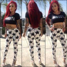 Gangsta Girl Swag