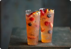 Mixed Berry Island Sangria Recipe