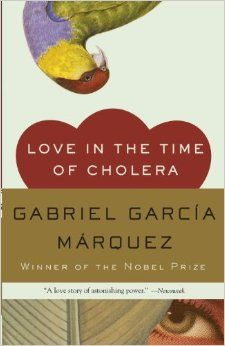 """Love in the Time of CholeraLove in the Time of Cholera by Gabriel García Márquez """"It was inevitable: the scent of bitter almonds always reminded him of the fate of unrequited love."""" - See more at: http://offtheshelf.com/2015/04/11-unforgettable-first-lines-in-literature-"""