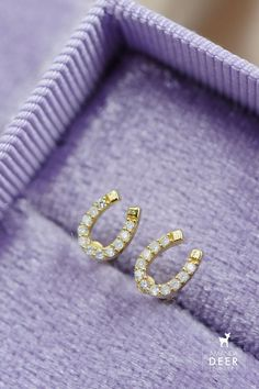 Make these tiny horseshoe studs your everyday lucky charms. Avaialble in silver or gold. Great for sensitive ears. Sensitive Ears, Dainty Jewelry, Lucky Charm, Initial Necklace, Studs, Initials, Wedding Rings, Engagement Rings, Mini