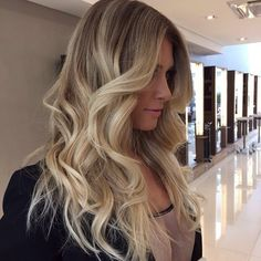 I could utilize my own hair color and get an ombre. No worries of roots and bigger difference than with just highlights.