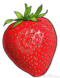 Illustration about A digital illustration of a strawberry. Disney Pop Art, Strawberry Pictures, Fruit Nail Art, Fruit Cartoon, Strawberry Nutrition, Strawberry Garden, Fruit Picture, Oil Pastel Paintings, Fruit Photography
