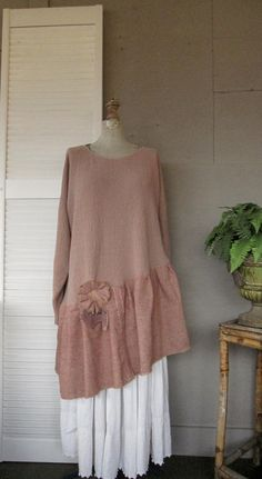 Upcycled Clothing Sweater Dress by lillienoradrygoods, $57.50