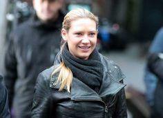 Fringe: Od.Anna Torv (Olivia Dunham) Biker Leather Jacket