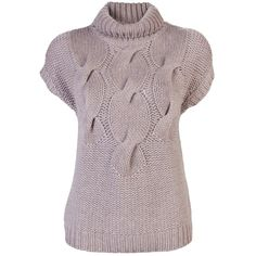 AKRIS PUNTO Mock sweater ($720) ❤ liked on Polyvore