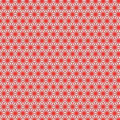 asanoha mini in carnelian fabric by chantae on Spoonflower - custom fabric