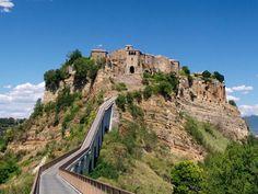 Civita di Bagnoregio- Italy: the most incredible little town.