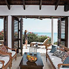 Our 50 Prettiest Island Rooms | Outdoor Living Room | CoastalLiving.com
