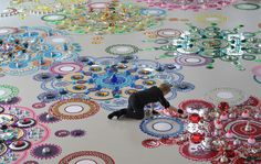 Mandala art kaleidoscopic turn glowing in hand of netherland artist ~ Veri Art…