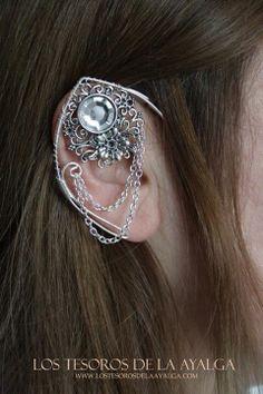 Elvish earring  ear cuff  elvish ear by Ayalga on Etsy, €9.00