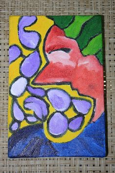 My Art: Sadness has no end happiness yes  10 x 15 Acrylic ...