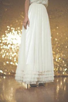 Hustle Your Bustle: Monique Bridal Skirt Wedding Dress $480.00 ~ Hustle Your Bustle