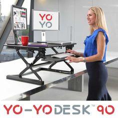 Yo-Yo Desk 90 – a revolutionary standing desk