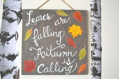 Leaves Are Falling A