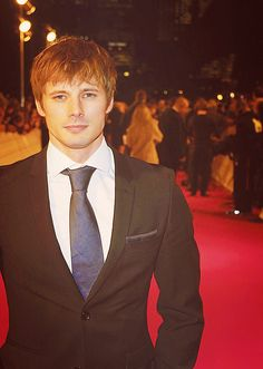 Bradley James could easily change my opinion about blond men. (I really need to finish Merlin....)