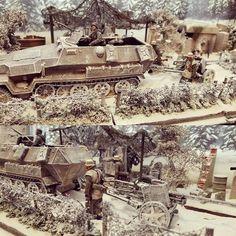 German Halftrack with a Pak 40 in the snow diorama. Modeler Sammy. #plastimodelismo #plasticmodel #plastimodelo #miniatura #miniature #maqueta #maquette #modelismo #modelism #modelisme #miniatur #scalemodel #scalemodelkit #usinadoskits #udk #hobby #diorama #passatempo #tiempolibre #ミニチュア #моделизм #war #guerra #guerre #bataille