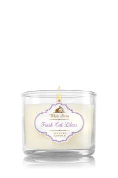 Fresh Cut Lilacs Mini Candle - Home Fragrance 1037181 - Bath & Body Works
