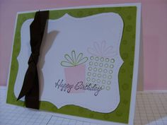 Pink Chocolate Birthday Kisses by designlady - Cards and Paper Crafts at Splitcoaststampers