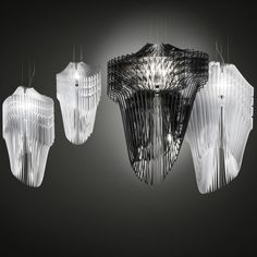 Lampe de table design Fiorellina by Slamp un luminaire aux formes