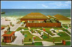 Mini golf vintage postcard Putt Putt Golf, Crazy Golf, I Have A Secret, Miniature Golf, Golf Courses, Dolores Park, Florida, Buttonholes, Travel