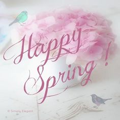 Happy Spring via Blonde Glitter Spring Ahead, Spring Is Here, Spring Day, Spring Fever, Happy Spring, Hello Spring, Spring Song, Vernal Equinox, Welcome Spring