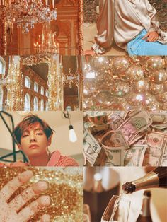 "☁️「bts seven deadly sins!au」Kim Taehyung is Greed  ""Greed is the desire for material wealth or gain, ignoring the realm of the spiritual"""