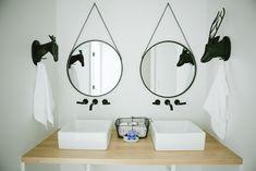 The Modern Farmhouse Project Boys Room and Bathroom - House of Jade Interiors Blog