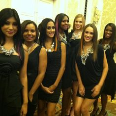 My fashion show models at success conference.