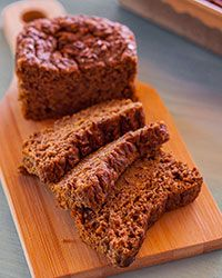 Flax seeds add additional nutrients to this gluten-free quick bread made with pureed zucchini and healthful spices.